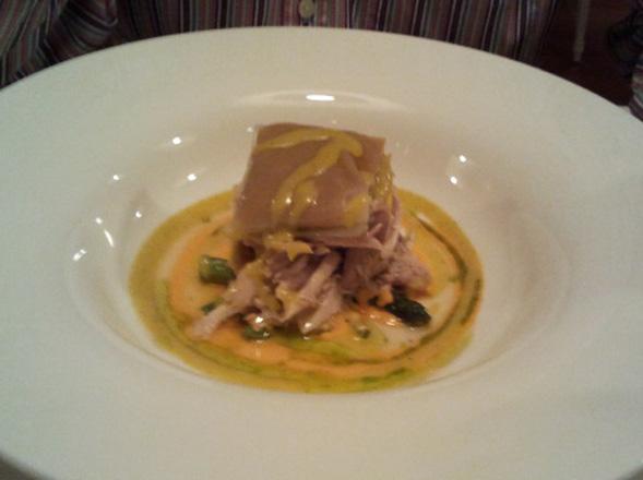 plato del restaurante de Bilbao