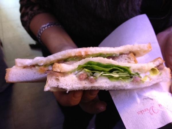 Sándwich famoso en Bilbao